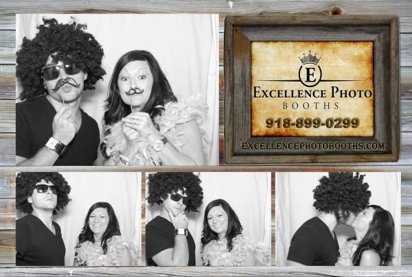 tulsa photo booth wedding