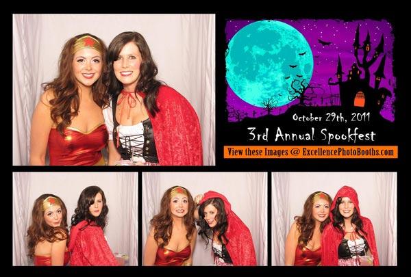 tulsa photo booth halloween party